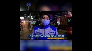 Operasi Gabungan PPKM Kota Malang
