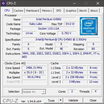 Spesifikasi Komputer Regular Bagian Cpu